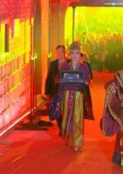 西安舉行入城式歡迎中法文化論壇嘉賓