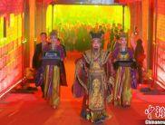 西安举行入城式欢迎中法文化论坛嘉宾